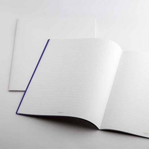Refill Notizbuch Whitebook Notes L kariert +Steg (iPad)