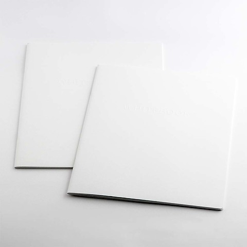 Refill Notizbuch Whitebook Notes L liniert +Steg (iPad)