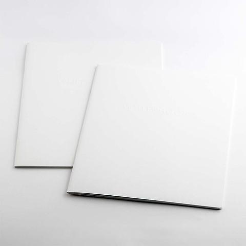 Refill Notizbuch Whitebook Notes L blanko