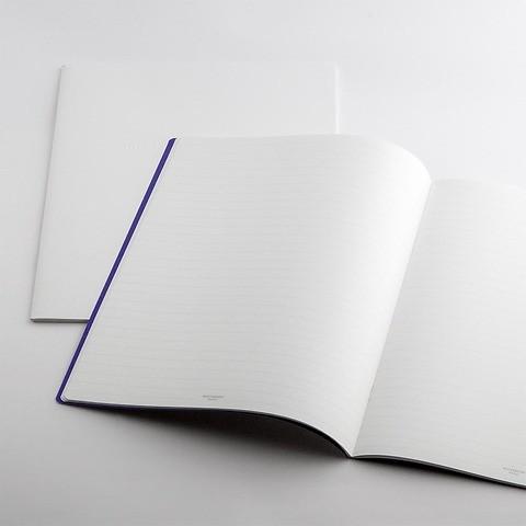 Refill Notizbuch Whitebook Notes SX liniert