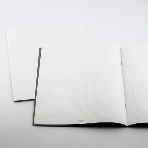 Refill Notizbuch Whitebook Notes XL kariert