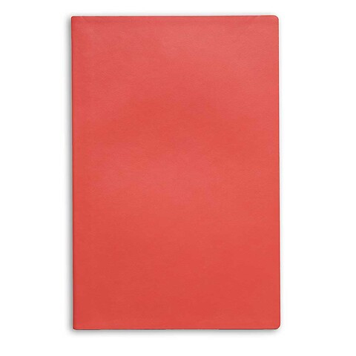 Treuleben Notizbuch Journal M Leder blanco; coral