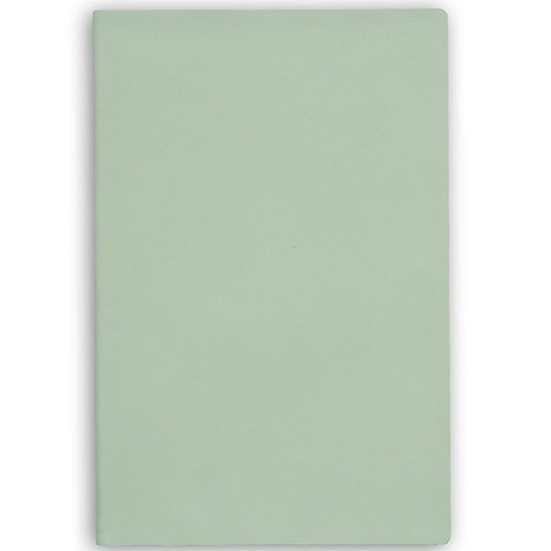 Treuleben Notizbuch Journal L Leder blanco; cool mint