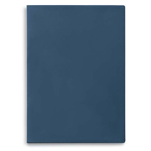 Treuleben Dokumentenmappe A4 Leder blau/prussian blue