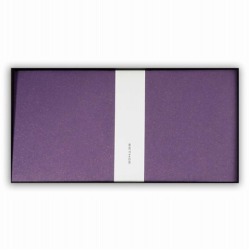 25 Umschläge Perlmutt violett DIN lang