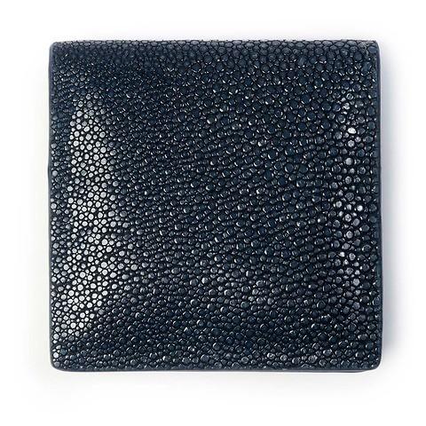Purse Wiener Schachtel Rochen 8x8 dunkelblau