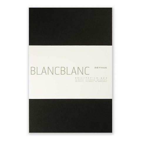 Briefpapier-Box BlancBlanc A420 Briefbogen A4, 20 Briefkart