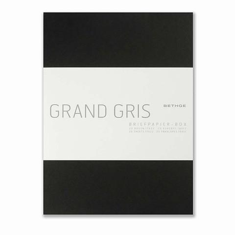 Briefpapier-Box GrandGris Diplomat  20 Briefbogen Diplomat