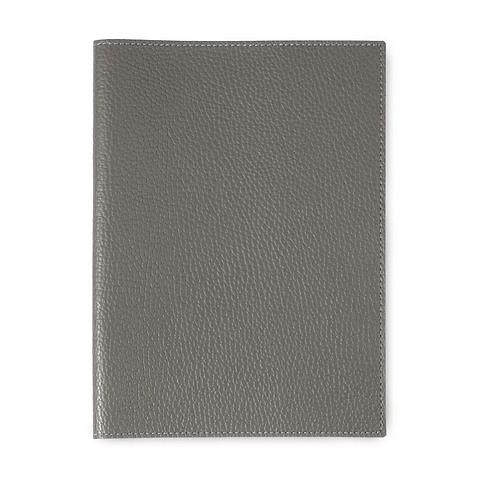 Buchhülle für DIN A5 Bücher Leder Lux sombre