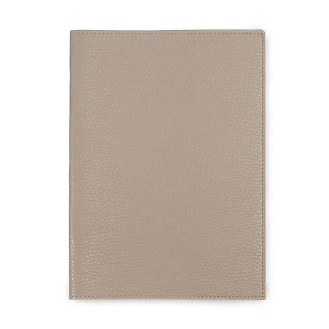 Buchhülle für DIN A5 Bücher Leder Lux latte