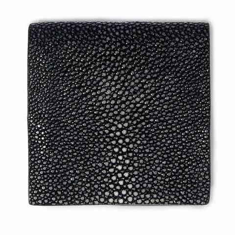 Purse Wiener Schachtel Rochen  8x8  schwarz
