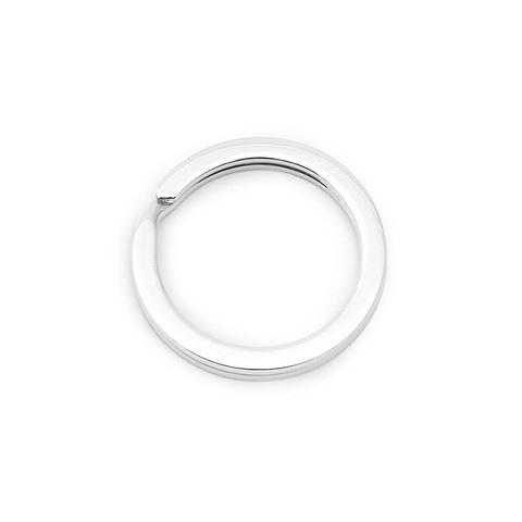 Schlüsselring Sterlingsilber mit Durchmesser 2,6 cm