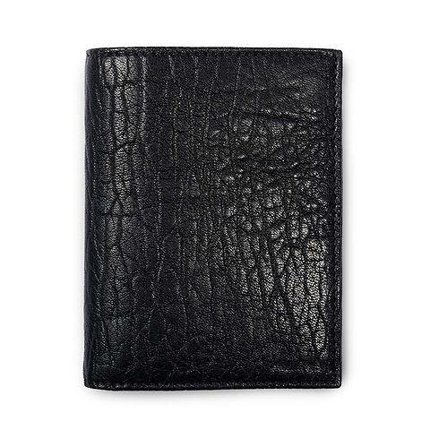 Brieftasche Leder Granbury hoch schwarz