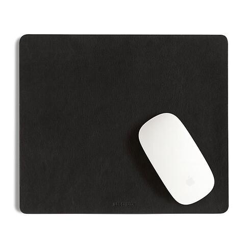 Legendär Mousepad SLYDE Leder schwarz