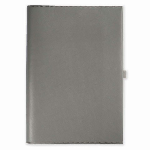 Undercover A4 Leder f. LEUCHTTURM1917 Notizbücher A4 grau