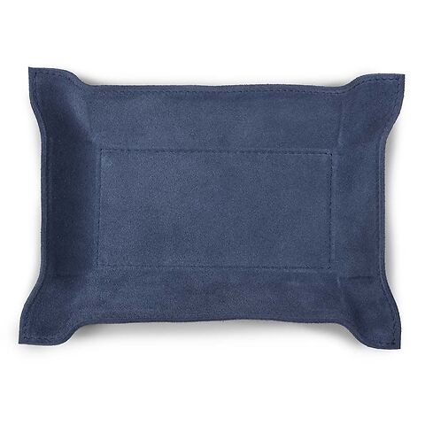 Accessoiretray Rectangle S Nubuc 15x21 royal blau