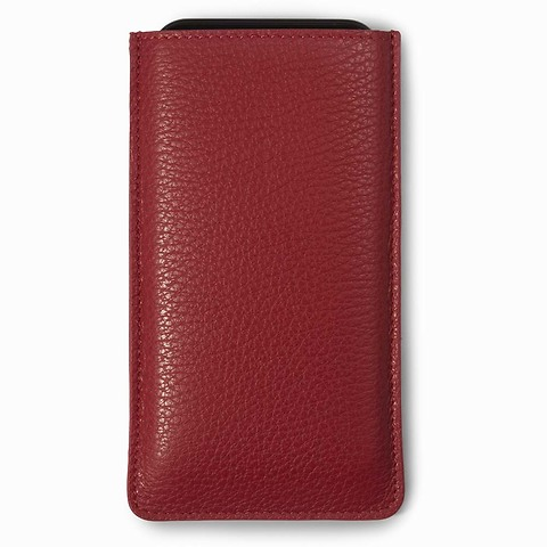 Phone-Bag iPhone X/XS Leder Adri dunkelrot