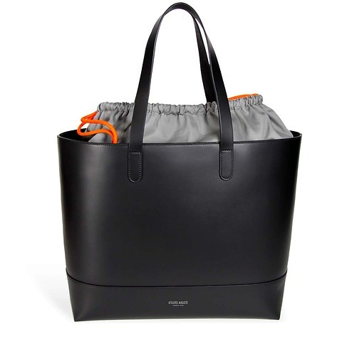 Sévigné Tasche 'Tote Bag' Leder schwarz