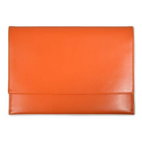 Treuleben Laptop Cache 12'-13'Leder orange/mandarino
