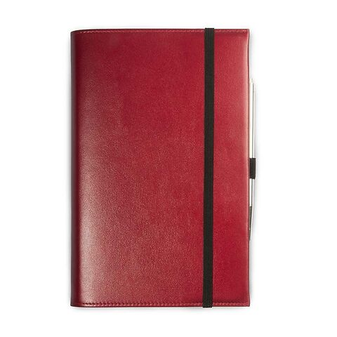 Undercover A5 Leder für Moleskine A5 Notizbücher rot