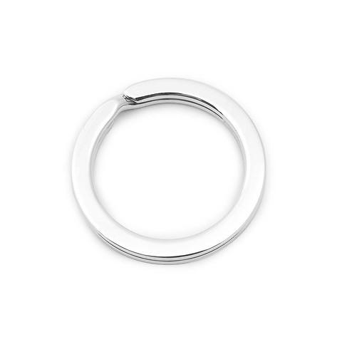 Schlüsselring Sterlingsilber mit Durchmesser 3,0 cm