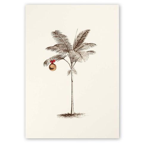 Weihnachtskarte Weihnachts-Palme A5