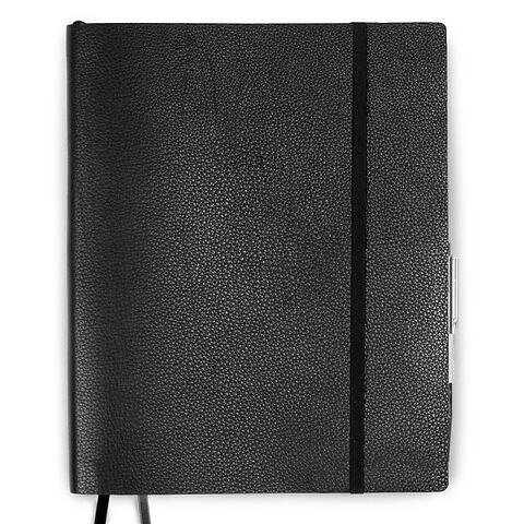 Whitebook Leder Calf soft XLpr o 23x29 cm schwarz