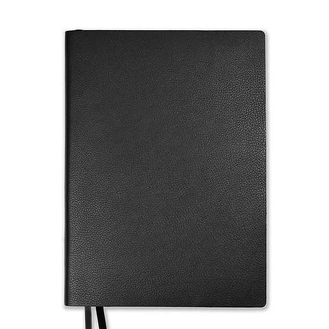 Whitebook Leder Calf Soft L pro 18,5x25,8 cm schwarz