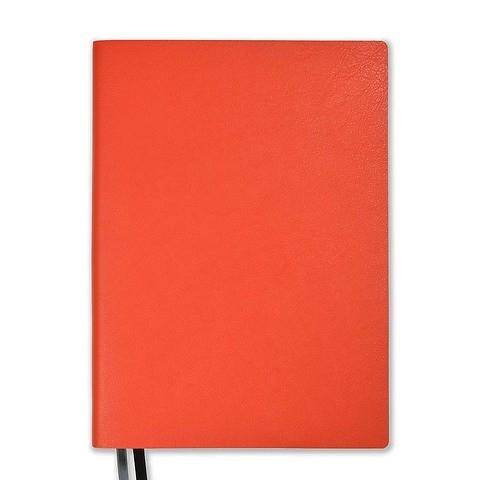 Whitebook Leder Calf French Soft L pro 18,5x25,8 cm mandarin