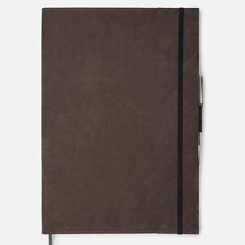 Undercover Leder wash für A4 Moleskine Bücher braun