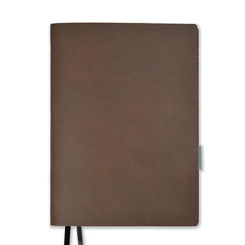 Whitebook Leder Calf Soft L pro 18,5x25,8 cm antik braun