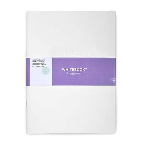 Refill Whitebook Notes L Pro 18x24,8;  blanko (2 Hefte)