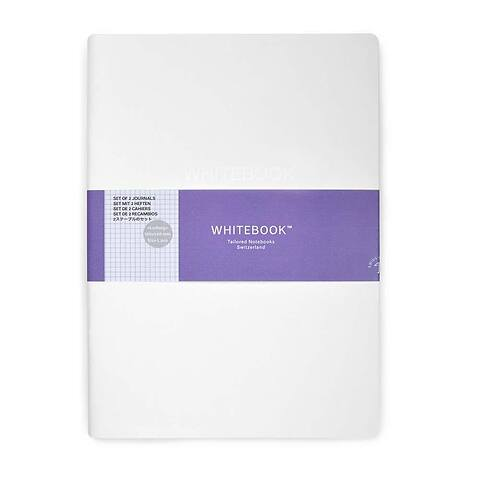 Refill Whitebook Notes L Pro 18x24,8;  kariert (2 Hefte)