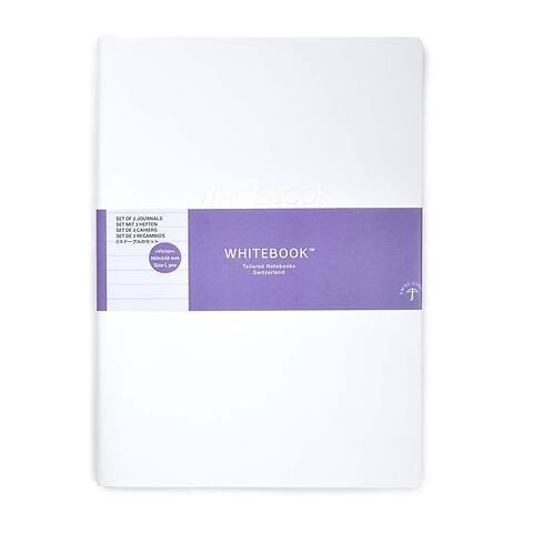 Refill Whitebook Notes L Pro 18x24,8;  liniert (2 Hefte)