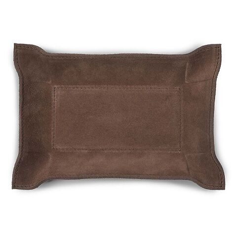 Accessoiretray Rectangle S Nubuc 15x21 choco