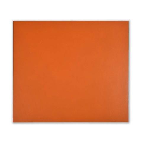 Mousepad Leder 28x25 cm orange
