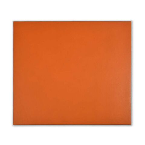 Mousepad Leder orange 28x25 cm