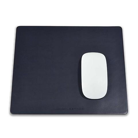 Legendär Mousepad SLYDE Leder 25,5x22 cm dunkelblau