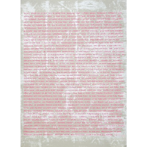 Bethge Geschenkpapier Wishes neonpink 50 x 70 cm, 3 Bögen