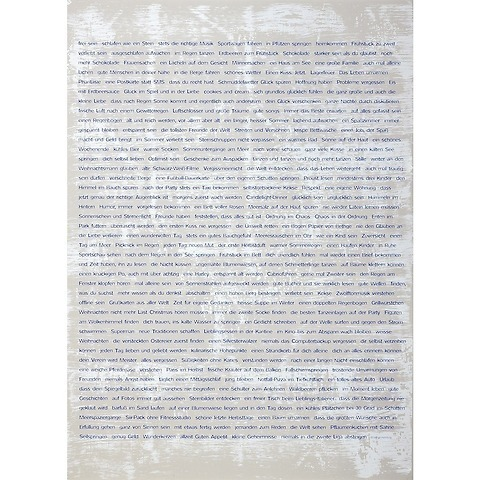 Bethge Geschenkpapier Wishes blau 50 x 70 cm, 3 Bögen
