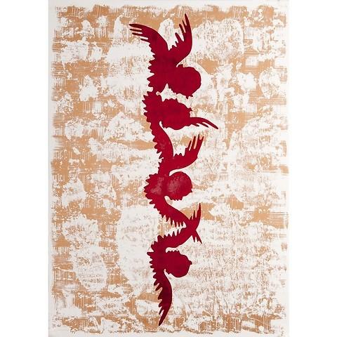 Bethge Geschenkpapier Engelschar 50 x 70 cm, 3 Bögen