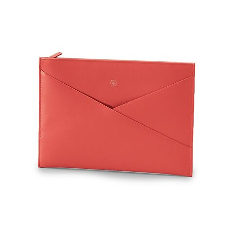 Treuleben Tablethülle Envelope Pouch Wallaby coral/lobster