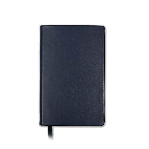 Treuleben Notizbuch Journal S Leder blanco midnight blue