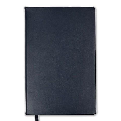 Treuleben Notizbuch Journal L Leder liniert, midnight blue