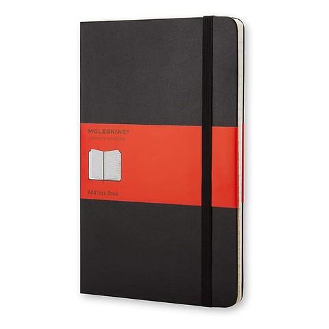 Moleskine Adressbuch A-Z Klassik A5 LG schwarz