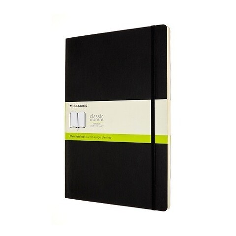 Moleskine Notizbuch Klassik A4 schwarz blanco