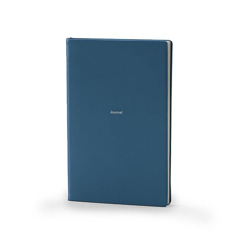 Treuleben Notizbuch Journal M Leder liniert prussian blue