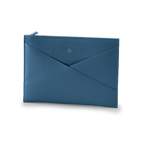 Treuleben Tablethülle Envelope Pouch Wallaby prussian blue