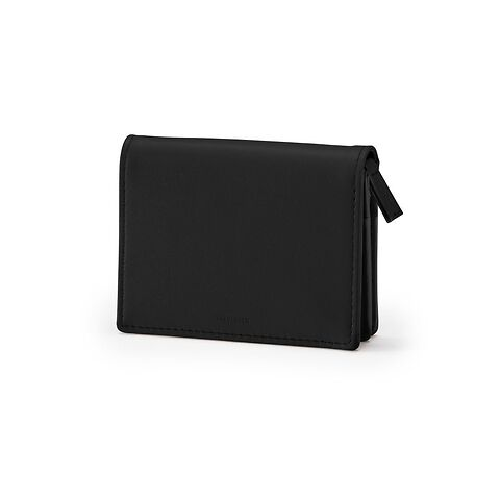 Treuleben Financier Small Wallet Leder schwarz/nero