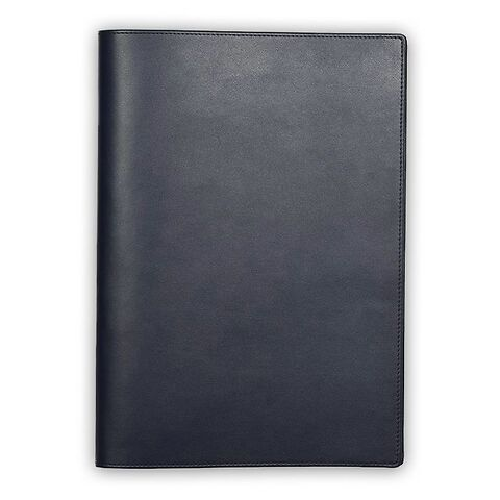 Treuleben Dokumentenmappe A4 Leder midnight blue